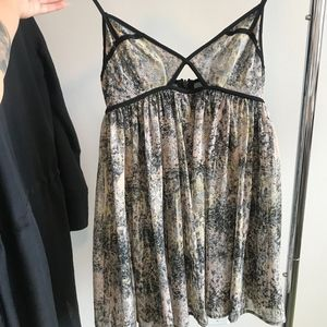 Top Shop Cut Out Dress or Top